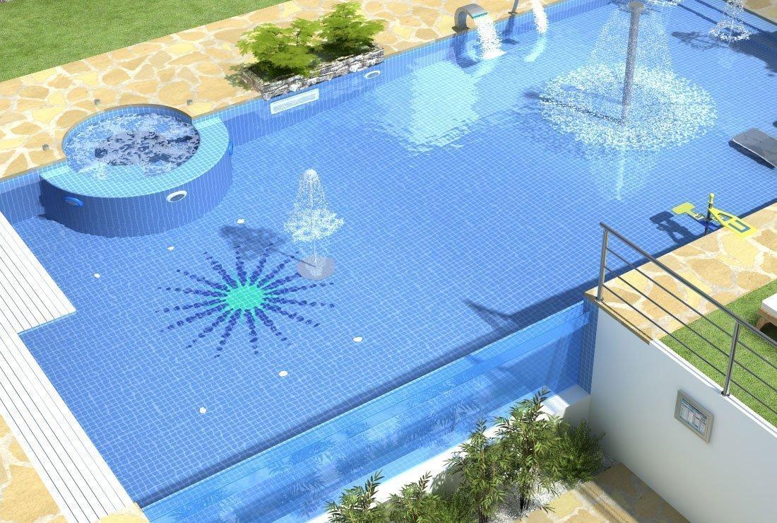 Azulejo piscinas
